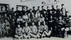 Rabbis and Jewish troops of the Austro-Hungarian Army in World War I.