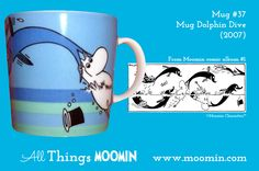 37 Moomin mug Dolphin Dive