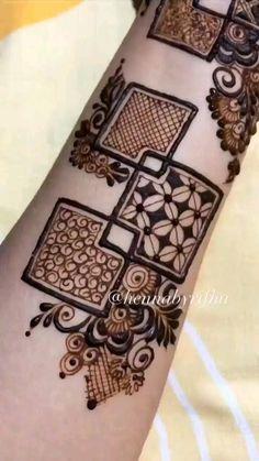 Floral Henna Designs, Henna Tattoo Designs Simple, Back Hand Mehndi Designs, Latest Bridal Mehndi Designs, Stylish Mehndi Designs, Full Hand Mehndi Designs, Mehndi Designs Book, Mehndi Designs For Girls, Mehndi Designs For Beginners