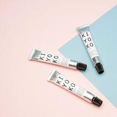 Kiyoko | Small-batch lip balm #skincare #smallbatch #packaging #menagerie