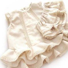 Vestido de flamenca de bebé DIY- Tutorial y patrón