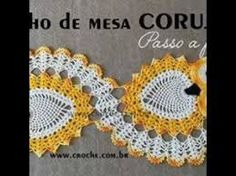 Resultado de imagen para centros de mesas tejidos de flores Crochet Projects, Crochet Earrings, Projects To Try, Crochet Patterns, Crafts, Stitches, Blanket, Videos, Table