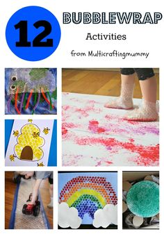 12 brilliant bubblewrap activities for kids from the best bloggers around.