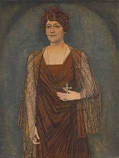 Jan Toorop Portrait of J. M. H. Knoops-Terhoeven, 1919