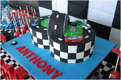 39 Boy's Race Car Birthday Parties - Spaceships and Laser Beams