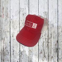 Lake Bum Anchor Relaxed Trucker Hat