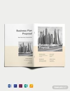 Instantly Download Free Business Plan Proposal Template, Sample & Example in Microsoft Word (DOC), Adobe Photoshop (PSD), Adobe InDesign (INDD & IDML), Apple Pages, Microsoft Publisher Format. Available in (US) 8.5x11 inches + Bleed. Quickly Customize. Easily Editable & Printable. Indesign Free, Adobe Indesign, Adobe Photoshop, Free Business Plan, Business Planning, Microsoft Publisher, Microsoft Word, Business Plan Proposal, New Bus