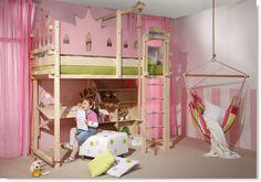 Let your dreams come true with the WOODLAND princess bed.  www.meubles-pour-enfants.com