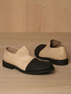 Marsell women's Marsellina Shoes from A/W 11 pre-collection in camel