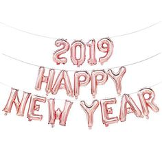 New Year's Eve Decorations That Will Make Your Party Pop 2019 Happy New Year Pink Balloons- 2019 Happy New Year Pink Balloons- Happy New Year Gif, Happy New Year Photo, Happy New Year Message, Happy New Year Quotes, Happy New Year Images, New Year Photos, Quotes About New Year, Happy New Years Eve, Pink New Year Wallpaper