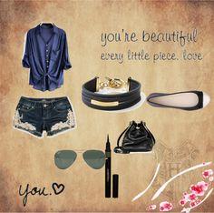 """you are beautiful"" by jeniferadriana-1 ❤ liked on Polyvore"