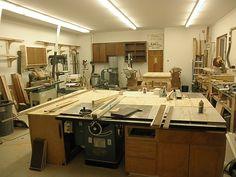woodshop ideas | Garage/workshop ideas and construction - Page 2 - Woodworking Talk ...