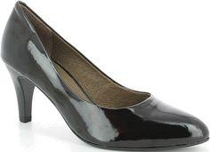 Caprice női bőr magassarkú cipő Peeps, Peep Toe, Shoes, Fashion, Moda, Shoe, Shoes Outlet, Fasion, Footwear