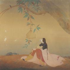 Nightingale, by Abdur Rahman Chughtai