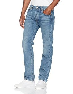Levi's Blue 501 Original Fit Smith Station Jeans. Brand New and Genuine. We are an authorised seller of Levi's. See product description below for more information.   http://www.costlinks.com/uk/product/levis-mens-501-original-fit-jeans/ #mensjeansbrands