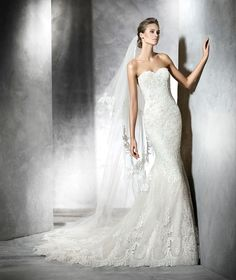 PRINCIA Robe de mariée (sirène)   Pronovias   Collection 2016