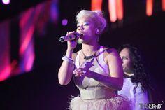 Keyshia Cole Performs at ESSENCE Music Festival 2013