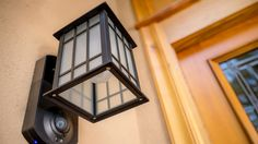 Kuna is a light fixture that doubles as a home security system
