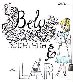 Desenho do Dia #62 - Bela, recatada e do lar - Soraia Casal