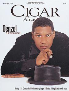 Celebrity Smoker ~ Denzel Washington