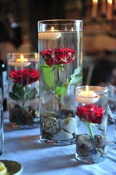 new idea for flower centerpiece