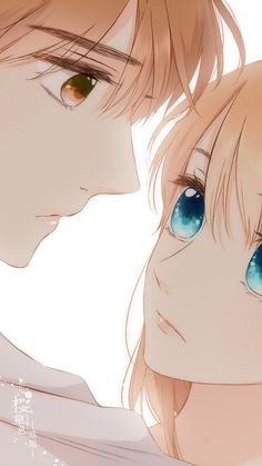 《恋是樱草色》Love is cherry pink Xia yi & Lin lu Anime Couples Drawings, Anime Couples Manga, Cute Anime Couples, Anime Girl Cute, Anime Art Girl, Manga Art, Cute Couple Art, Anime Love Couple, Anime Cupples