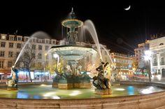 Rossio square, Lisbon - Portugal