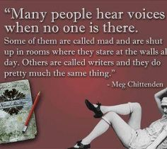 I hear them...