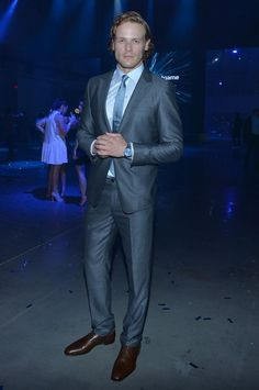 HQ Pics of Sam Heughan at the Piaget Polo S Launch Event
