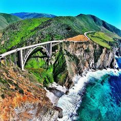 It's called highway 1 for a reason! Incredible Vū to take a road trip through the California central coast thanks to @osmanertorer for sharing this experience via drone!  Don't forget to tag #AirVuz on your drone photos and videos to be featured on our so
