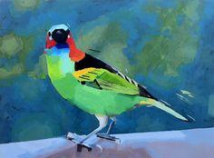 Passarim / Birdie, by Suzanna Schlemm SOLD