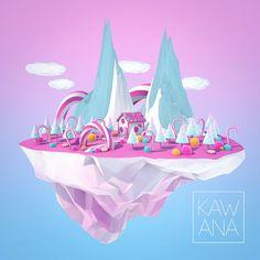 Candy Island by KAWANA-N
