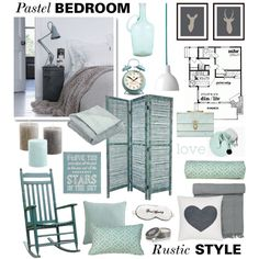 turquoise grey and white - pretty without being overtly girly Pastel Bedroom, Peaceful Places, Rustic Style, Grey And White, Cosy, Bedroom Rustic, Nursery, Feeling Sleepy, Bedrooms