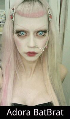 . Adora Batbrat, Punk Princess, Pastel Goth, Goth Girls, Skincare, Makeup, Inspiration, Make Up, Biblical Inspiration