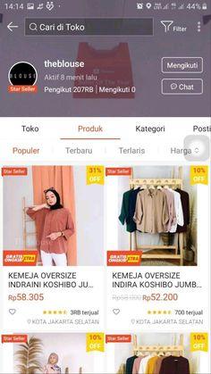 Best Online Clothing Stores, Online Shopping Sites, Shopping Stores, Online Shopping Clothes, Modern Hijab Fashion, Muslim Fashion, Casual Hijab Outfit, Hijab Dress, Online Shop Baju