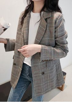 1390 - 1390 Best Picture For outfits hiver For Your Taste You are looking for something, and it is going - Korea Fashion, Asian Fashion, Look Fashion, Fashion Outfits, Blazer Outfits, Fall Outfits, Casual Outfits, Cute Outfits, Boho Outfits