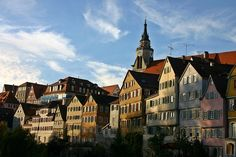 Tübingen, Altstadt, Neckar #Germany