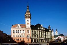 Krnov, Czech Republic or Jägerndorf where my parents came from.  We visited in 1993 but the family has been back many times.