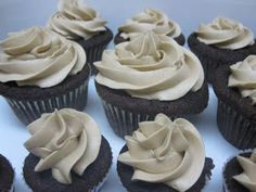 Goddess of Baking: Mocha Cupcakes with Espresso Buttercream Frosting