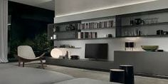 Image result for white lacquer shelving unit with coloured panels