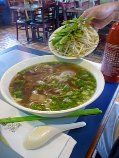 Pho -- the best soup ever :)