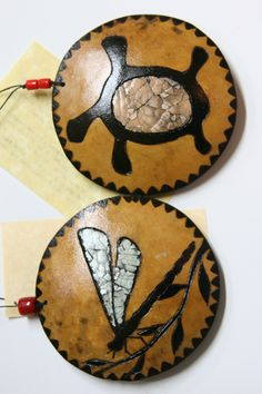 gourd art enthusiasts. These would be great as ornaments  or jewelry.