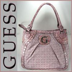 GUESS Purse LACEY Mauve Handbag Tote Shoulder Bag Tote Handbags, Purses And Handbags, Guess Purses, Suitcases, Designer Bags, Balenciaga City Bag, Dusty Rose, Mauve, Fashion Brands