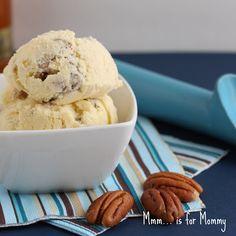 Mmm... Butterscotch Pecan Ice Cream