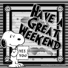 Have a Great Weekend! charlie brown snoopy weekend friday peanuts sunday saturday graphic happy weekend weekend greeting end of the week Bon Weekend, Happy Weekend, Happy Saturday, Happy Day, Weekend Gif, Hello Weekend, Charlie Brown Quotes, Charlie Brown Y Snoopy, Snoopy Love