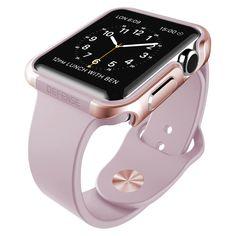 X-Doria Apple Watch Defense Edge Rose Gold, Adult Unisex Apple Watch 42mm, New Apple Watch, Apple Watch Series, Apple Watch Bands, Cool Watches, Watches For Men, Stylish Watches, Sport Watches, Rose Gold Apple Watch