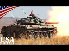 74式戦車(自衛隊)&ストライカー装甲車(米陸軍)の実弾射撃訓練 - Type 74 Tank (JGSDF) & Stryker MGS (US Army) Live Fire - YouTube