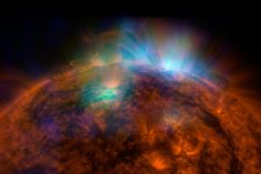 THE SUN This image was taken by Nasa's Nuclear Spectroscopc Telescope Array, and was its first to be taken of the sun in high-energy X-rays. It was released on Dec 22 2014