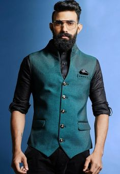 Shop Mens Nehru Jackets 2020 @ best prices from Fashion. Latest Designer Mens Waistcoat collections 2020 for Engagement, Reception, Wedding & Party wear. Nehru Jacket For Men, Nehru Jackets, Wedding Dresses Men Indian, Wedding Dress Men, Indian Men Fashion, Mens Fashion Suits, Modi Jacket, Men's Waistcoat, Waistcoat Men Casual