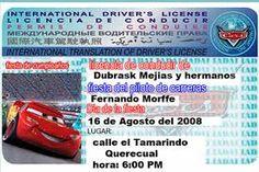 invitaciones cars - Buscar con Google